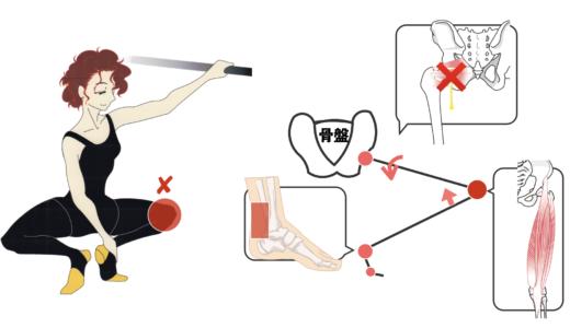 プリエするとき膝を曲げるのがNGな3つの理由