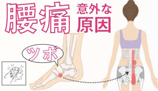 腰痛(背骨に近いところ〜お尻)の意外な原因とツボ