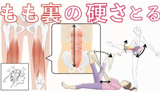 ハムストリングスの硬さをとる腹筋の整え方|バレエ筋肉ハンドブックより